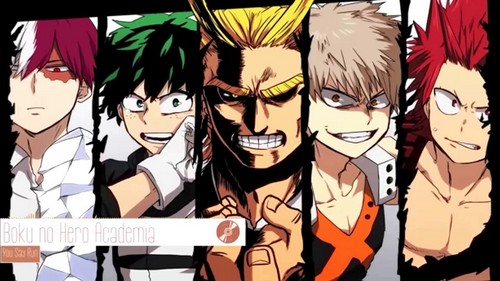 boku no hero academia season 1! :) currently in middle of season 2!