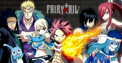 I'm watching Fairy Tail