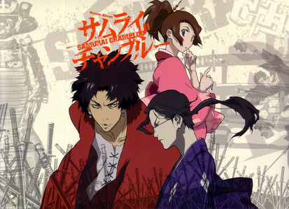Hm I don&#39;t know very many but here&#39;s the ones I liked. 1) Samurai Champloo | a personal fave of mine. <3 2) Drifters | it starts out in that time period at least 3) Rurouni Kenshin 4) Gintama 5) Sengoku Basara I&#39;ve also heard Hakuoki is really good but, I haven&#39;t seen it.