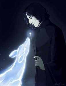 BECAUSE SNAPE IS AMAZING AND THE BRAVEST MAN I'VE EVER KNOWN! What 更多 do 你 need? XD