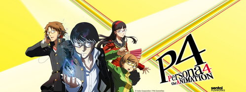 I'm currently watching Persona 4 the Animation.
