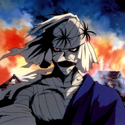 """Shishio Makoto from Rurouni Kenshin He's ruthless, coldblooded and sadistic. He manipulates and uses everyone, believing """"the weak exist for the benefit of the strong"""". He almost succeeds in his plans to take down the Meiji government and actually beats the protagonist Kenshin in their fight. The only reason he dies is because he willingly allows his body to spontaneously combust, his final words being that he's going take over hell."""