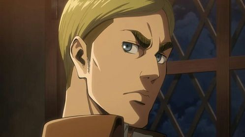 there are way too many characters i amor (with blue eyes) but right now it's erwin