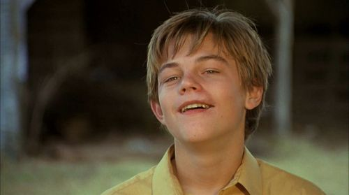 I thought Leo was amazing in What's Eating Gilbert uva as a mentally handicapped boy.It earned him his first Oscar nomination