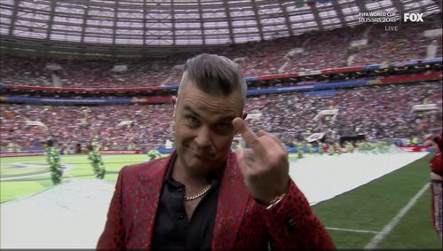 Not an actor but Robbie Williams was ❤️