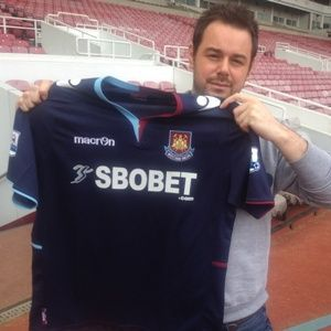 Danny Dyer , My favourite team - West Ham United !