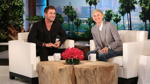 the mighty Chris on one of his appearances on Ellen:)