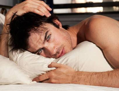 Ian in bed:)
