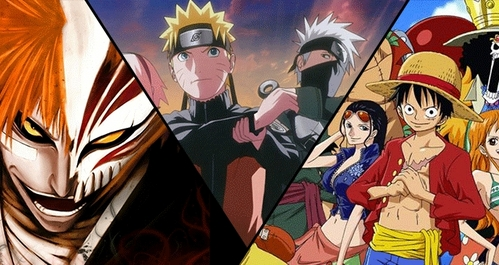 1) Bleach 2) NARUTO -ナルト- Shippuden 3) One Piece these r my fav animes of all