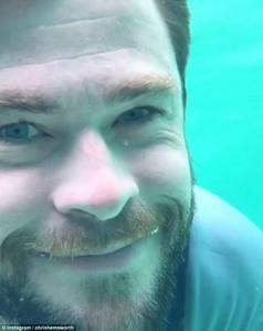 underwater grin:)