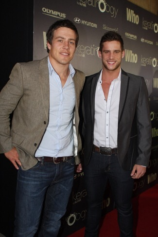 Steve Peacocke and Dan Ewing
