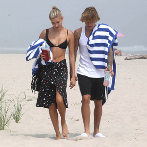Justin with gf Hailey