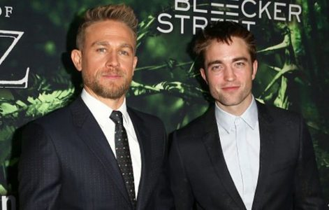 Rob with his co-star Charlie Hunnam