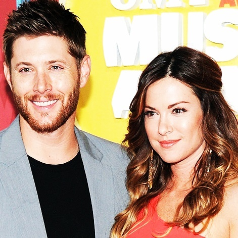 Jensen and his wife Danneel