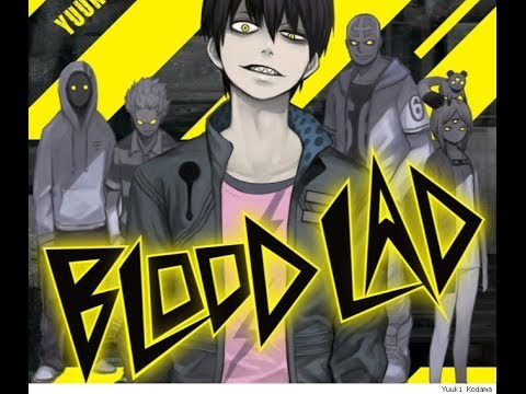 The first person that came to mind was the blond guy in Trigun, but since I haven't really watched that anime, I'll go with Staz from Blood Lad. He's a scary looking vampire with a whole group of thugs behind him, but he's actually quite silly. Not cowardly, but definitely funny.