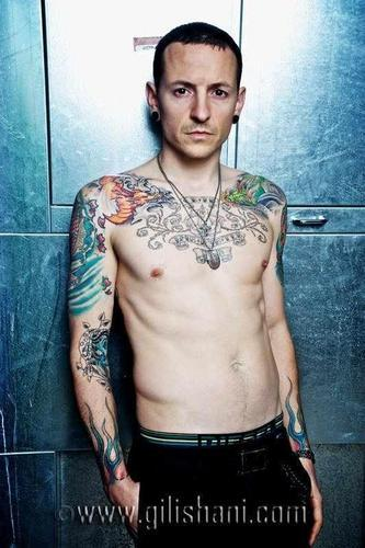 Chester is the best. His voice is amazing both 唱歌 and screaming. He is hot,sexy,cute,funny handsome. I 爱情 his body art.