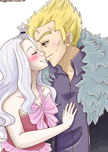 Miraxus because Lucy and Laxus barely speak in the anime to be honest. Also genrally Mirajane and Lauxus are on similar power levels. Btw i pag-ibig this picture.