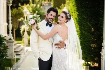 Burak and his wife Fahriye