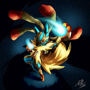 Mega Lucario. I don't even use it in the games, but I'm going to.