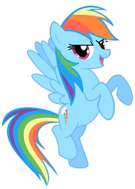 I'd like to be радуга Dash, Because she was that confident to win any pegasus races, even the Sonic Rainboom is her best shot. She has the Element of Confidence and Loyalty.