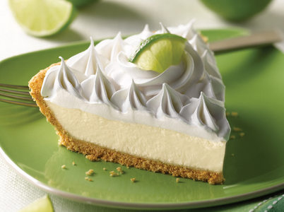 I like key lime, calce pie. It's sweet and tangy.