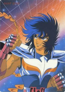 "Phoenix Ikki from ""Saint Seiya"""
