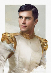 At first a couple celebrities came to mind. But then I remembered this guy I went to high school with who legit looked like a Disney prince or something. Like he was so attractive it was unreal. He basically looked exactly like this but with glasses:
