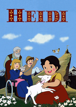 Heidi,Girl of the Alps.Back than,I didn't realize that it was anime though(in fact I didn't realize that it was an anime until I was in high school lol)