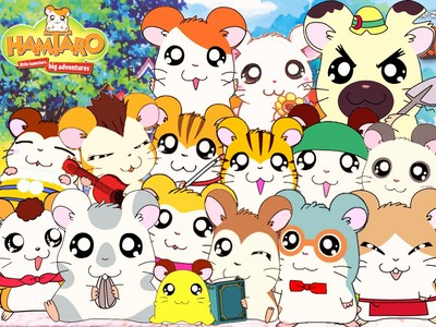 Hamtaro! When I was little my friends decided to show me a couple episodes and I really loved it. I even had a picture book of it and everything.