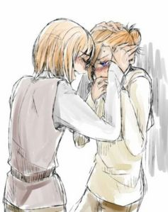 Right now it's Annie/Armin.