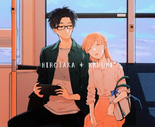 Since I can relate so much xD  Hirotaka and Narumi from Wotakoi
