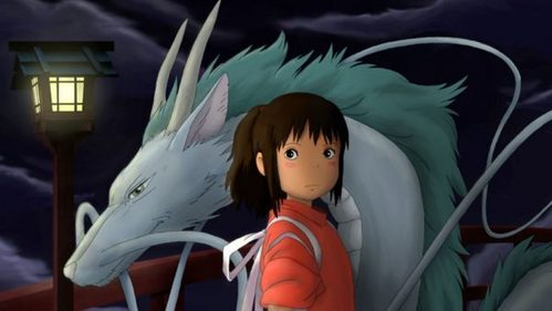 Spirited Away of Kiki's Delivery Service.