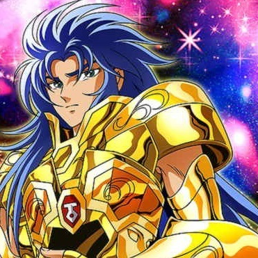 Gemini Saga from ''Saint Seiya''