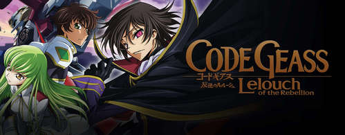 Code Geass. Although I'm not sure with the characters attending the school is a high school या not.