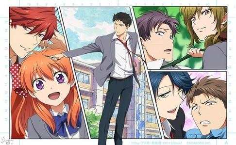 Mine is....... 1) Gekkan Shoujo Nozaki-kun 2) Natsume Yuujinchou series 3) Kamisama Hajimemashita 4) Kimi ni Todoke 5) Wotaku ni Koi wa Muzukashii 6) Hakuouki series