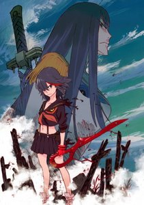 I would have mentioned Danganronpa but since it comes from a Video Game which I enjoyed much और than the Animation, I'm going with Kill la Kill. The DR3 ऐनीमे though is quite a close सेकंड !!!!