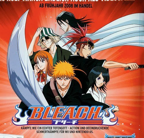 1) Bleach 2) Naruto Series 3) One Piece