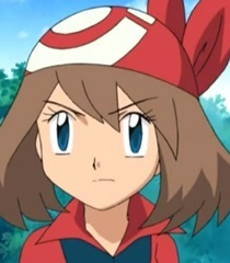 I'm pretty sure my first crush was May/Haruka from Pokemon.