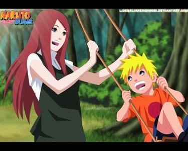Kushina & Naruto (Naruto Shippuden)