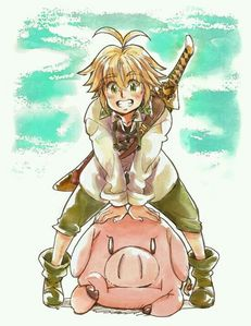 I am going with Hawk from Seven Deadly Sins even though he is annoying sometimes. I also really like Kirara from Inuyasha