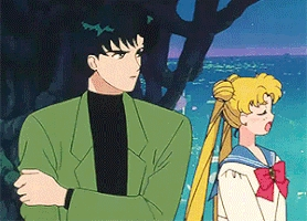 Not so sure but I think it was Mamoru Chiba from Sailor Moon