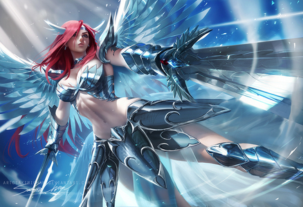 There's tons but Erza Scarlet is one of the characters that is a combination of those characters and that also accurately describes me.