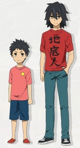 An example would be Jinta from Anohana.