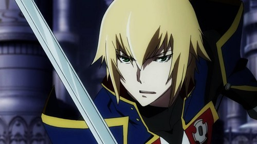 I would say my personality is a mix-up between Jin Kisaragi and Nu-13 from BlazBlue.
