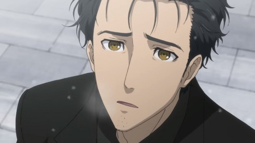 Rintaro Okabe. Best character development of all time. Anime: Steins Gate