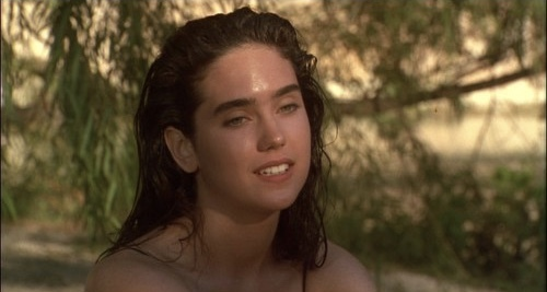 Sooo I just found out who the lovely Jennifer Connelly is last week thanks to my art teacher. For the past 4 days all I've been doing is watching her films. I might be in l'amour with a woman who is 32 years older than me. Paul is a lucky man.