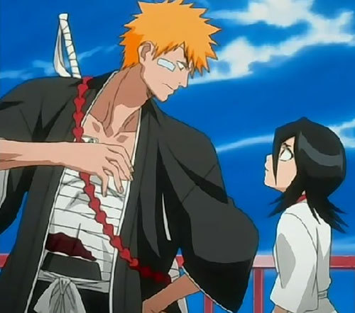 Rukia they just seem to fit together