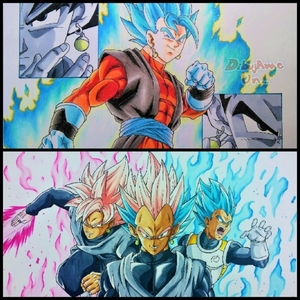 Double Ascended a God maybe. Maybe something like this with গোকু and Vegeta.