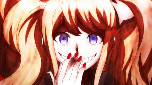 There are quite a few. One in particular is certainly Junko Enoshima from Danganronpa !!!!