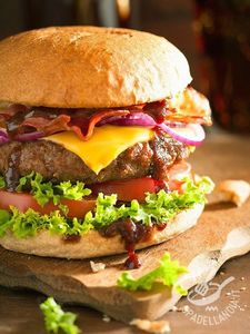 Hamburgers! Cause they're just delicious! What's not to love?